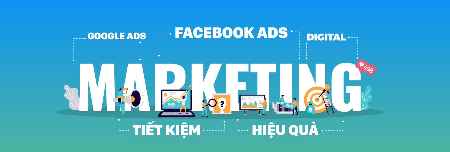 Banner dịch vụ digital marketing